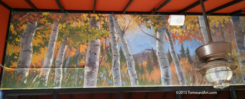 Aspen Grove mural Littleton CO