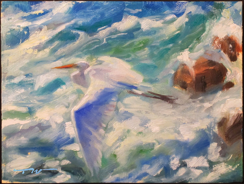 sea bird painting